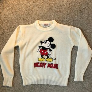 Mickey Mouse Vintage Sweater